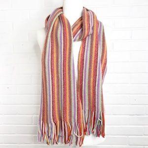 William Brunton Hand Knit Scarf Made in Scotland